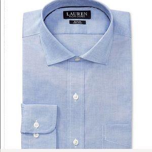 Lauren Ralph Lauren Blue Dress Shirt